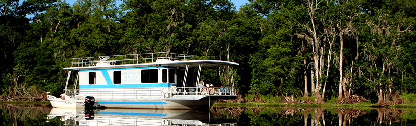Houseboating on St. Johns River