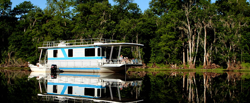 Houseboating in Florida